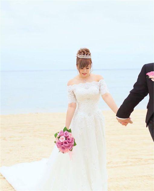 張芯瑜,小小瑜,結婚,婚禮,嫁人(圖/翻攝自臉書小小瑜張芯瑜)https://www.facebook.com/xiaoxiaoyu.family/