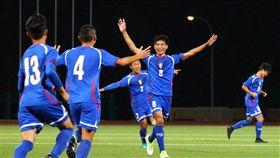 ▲中華U19男子足球代表隊在相隔44年後再度闖入亞錦賽16強會內賽。(圖/中華足協提供)