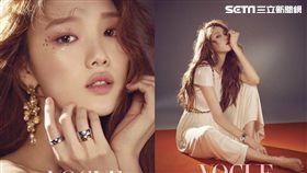 韓國女星李聖經登上時尚雜誌創刊號。(圖/VOGUEme提供)