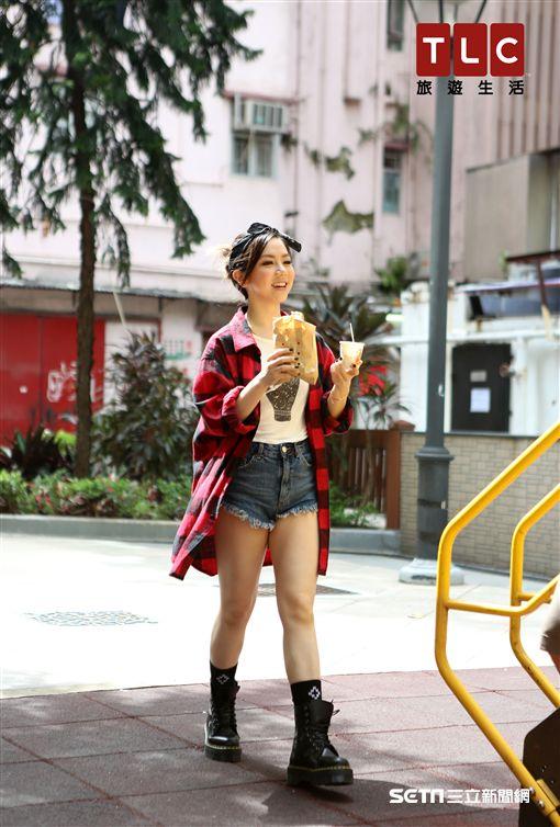 鄧紫棋不怕胖!最愛吃魚蛋、西多士,《美食無國界》香港吃喝攻略。(圖/TLC旅遊生活頻道提供)