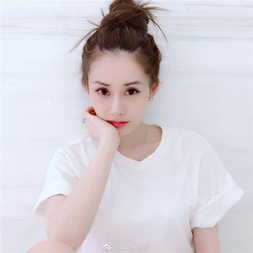章澤天,韋雪/翻攝自微博