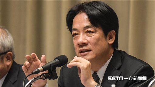 行政院長賴清德與勞動部長林美珠針對一例一休修法召開記者會說明 圖/記者林敬旻攝