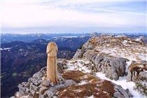 奧地利,滑雪, 爬山,山頂,生殖器,害羞,人造,風景