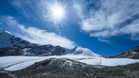 西藏自治區進行地理普查,9成陸地達3500公尺高。(圖/翻攝中新網)