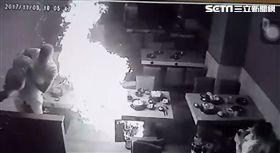 彰化火鍋店瓦斯氣爆!男員工被燒成火球 驚悚畫面曝光