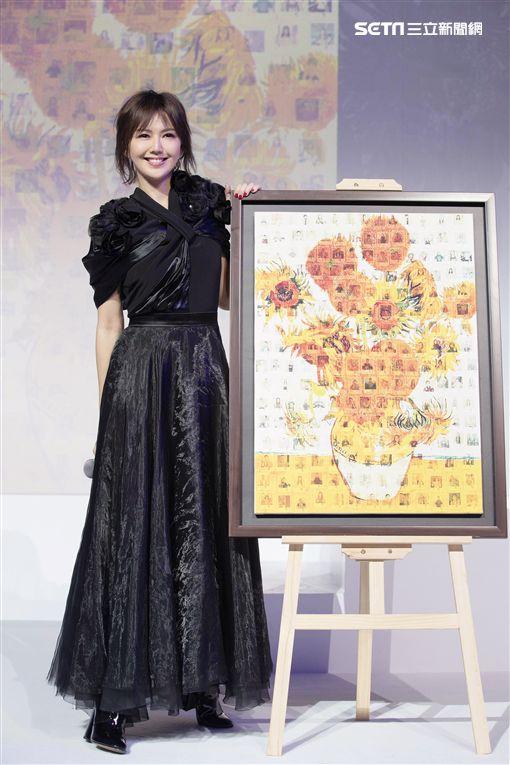孫燕姿在北京舉辦發片記者會。(圖/環球提供)