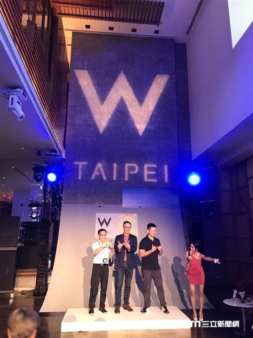 台北W飯店WOOBAR改裝計畫。(圖/記者簡佑庭攝)