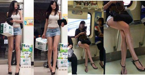 台灣的女生常穿著性感熱褲在街上看似正常,但在日本網友眼中,竟將台灣封為「美腿天堂」,甚至想到台灣來個「賞腿之旅」,台灣鄉民得知後,紛紛吐槽「是日本人矮吧」、「只是台灣女生比較敢最敢露」。(圖/翻攝自PTT)