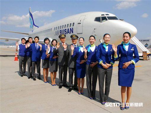 釜山航空,Air Busan。(圖/翻攝自釜山航空臉書)