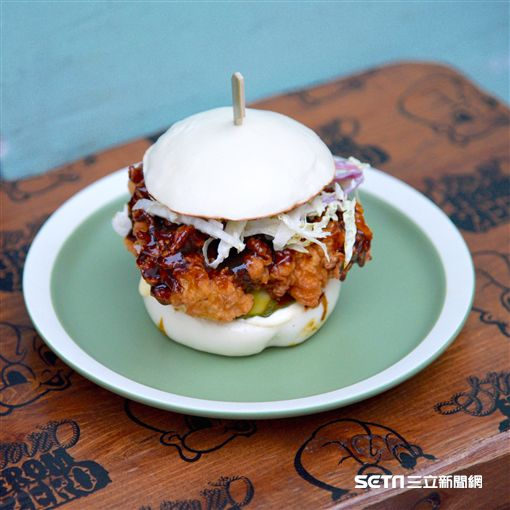 香港人氣美食「小包包 Little Bao」。(圖/台北晶華提供)