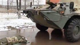俄羅斯,俄國,公務員,測驗,裝甲車,射擊 圖/翻攝自rbc