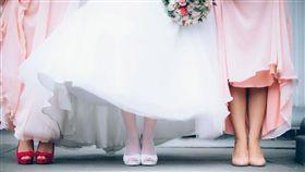 伴娘,結婚,婚禮 示意圖/翻攝自Pixabay