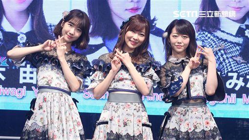 AKB48成員指原莉乃.柏木由紀.峰岸Minami訪台記者會