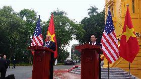 越美高層會談 深化兩國關係