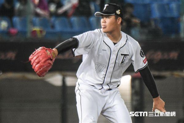 亞冠賽熱身賽台灣代表隊林政賢 圖/記者林敬旻攝