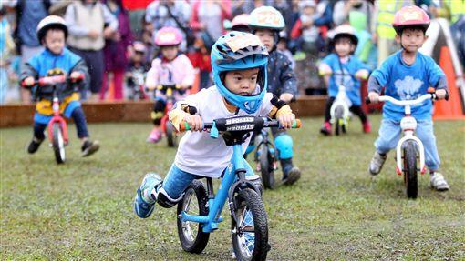 兒童滑步車賽(圖/中華民國自行車騎士協會提供)
