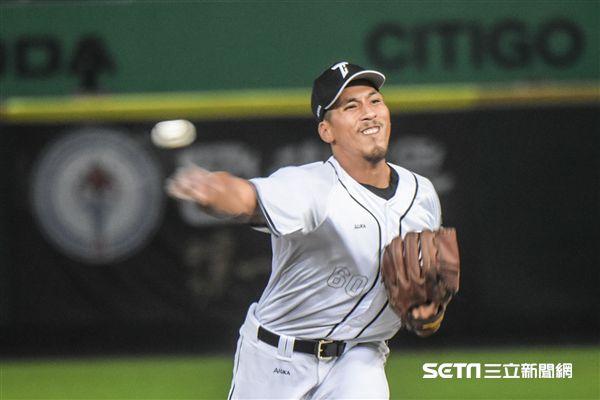 亞冠賽熱身賽台灣代表隊王鴻程 圖/記者林敬旻攝