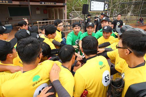 ▲陳偉殷棒球訓練營活動。(圖/大漢整合行銷提供)