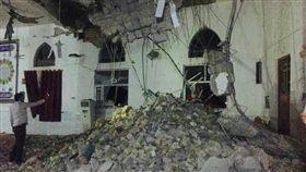 伊拉克地震(圖/翻攝自推特)