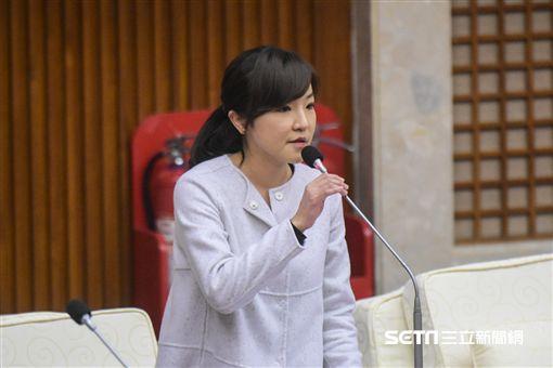 民進黨台北市議員陳慈慧 圖/記者林敬旻攝