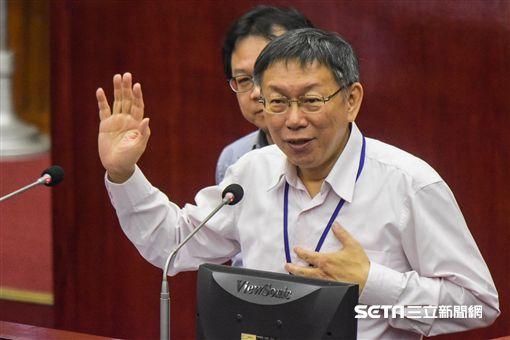 台北市長柯文哲 圖/記者林敬旻攝