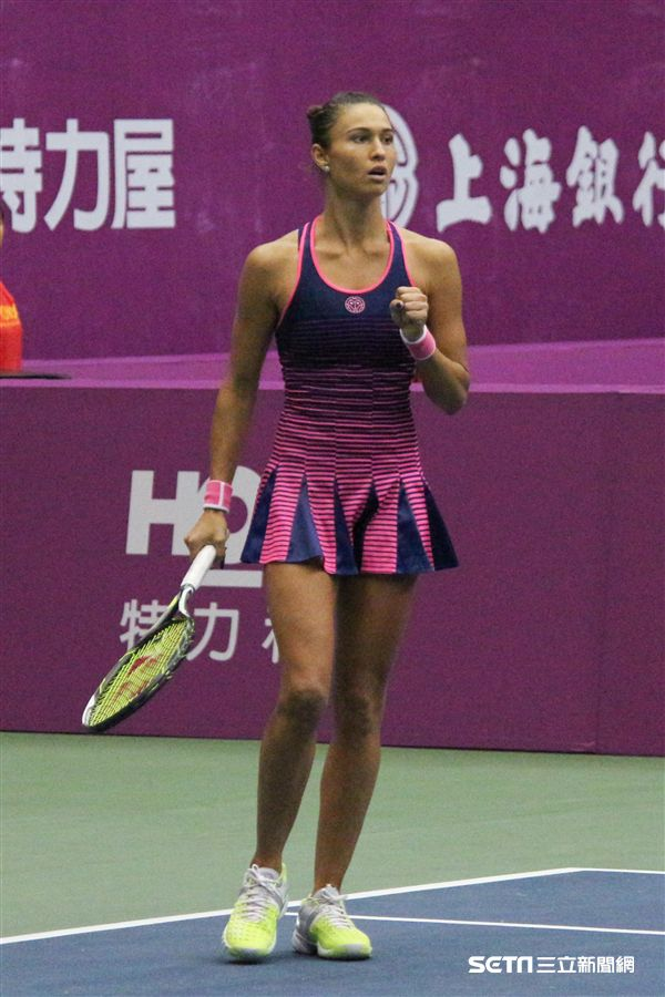 ▲迪雅琴科在上一站WTA泰國華欣125K系列賽打進前8。(圖/記者蔡宜瑾攝影)