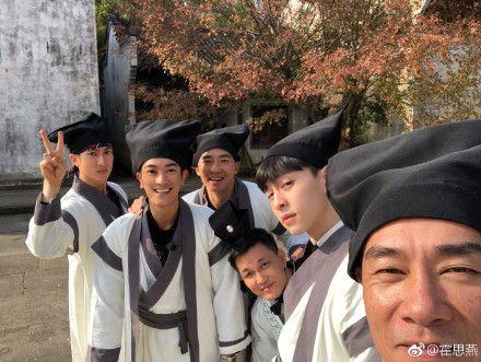 爸爸去哪兒5,吳尊,鄧倫,杜江,陳小春,劉畊宏(圖/翻攝自微博)