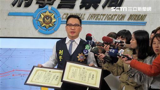 台日合作打擊毒品,並在茨城縣海域查獲480公斤安非他命,數量不但是台日史上最高,也是日本警察廳歷年來第4名(翻攝畫面)