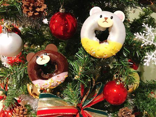 Mister Donut耶誕主題季。(圖/Mister Donut提供)