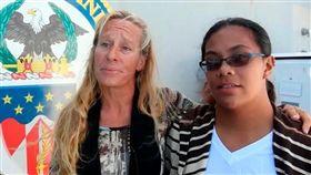 太平洋漂流5個月,台灣漁船救了兩個美籍女子(圖/翻攝自推特)