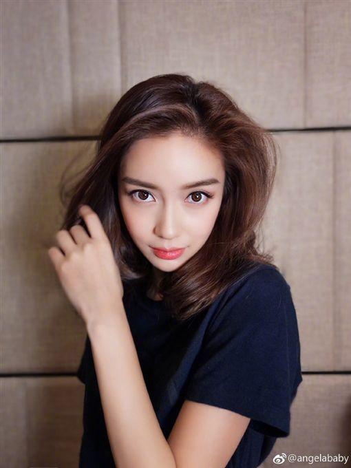 Angelababy /翻攝自微博