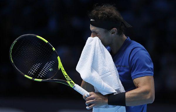▲納達爾因膝傷決意於ATP年終賽棄賽。(圖/美聯社/達志影像)