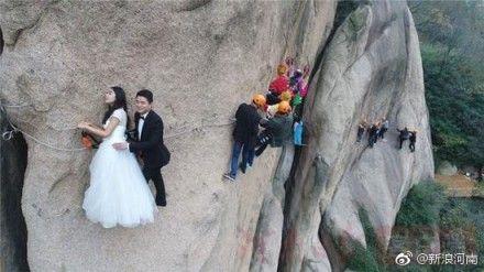 大陸,婚紗照,情侶,新人,西遊記(圖/翻攝自微博)
