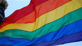 彩虹旗,同志,同性戀,同性婚姻,婚姻平權,LGBTQ,多元成家(圖/Pixabay)
