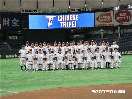 ▲U24台灣犬中華隊在東京巨蛋合照。(圖/記者蕭保祥攝)