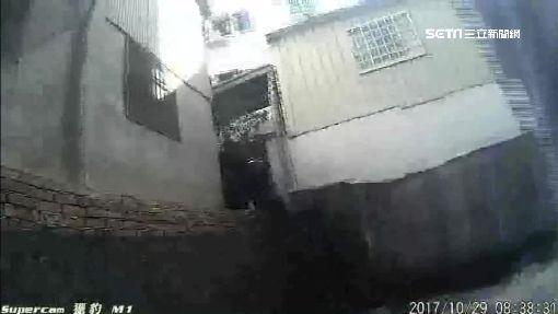 簡直是在拍電影! 警匪追逐飛車又跳水溝