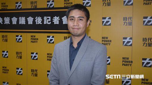 時代力量發言人李兆立 圖/記者林敬旻攝
