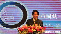 行政院長賴清德出席「第40屆吳三連獎贈獎典禮」。(記者盧素梅攝)