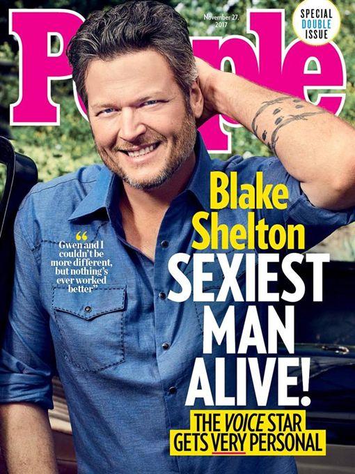 Blake Shelton榮登全球最性感男人寶座。(圖/翻攝Blake Shelton臉書)