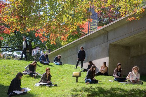 美國哈佛大學校園。(圖/翻攝Harvard University臉書)