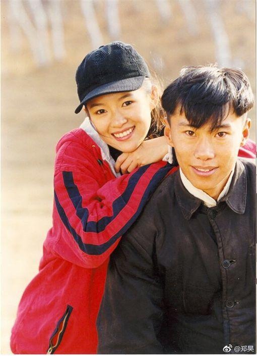 鄭昊,章子怡,我的父親母親(圖/翻攝自鄭昊微博)