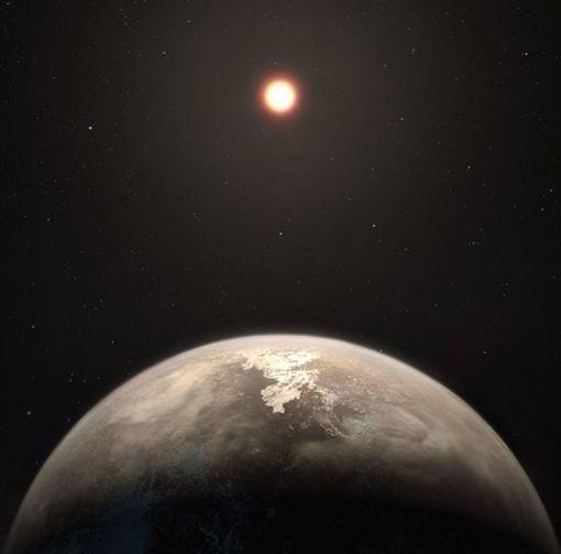 天文,光年,太陽系,系外行星,羅斯128b,Ross 128b,生命(圖/翻攝自ESO)https://www.eso.org/public/news/eso1736/