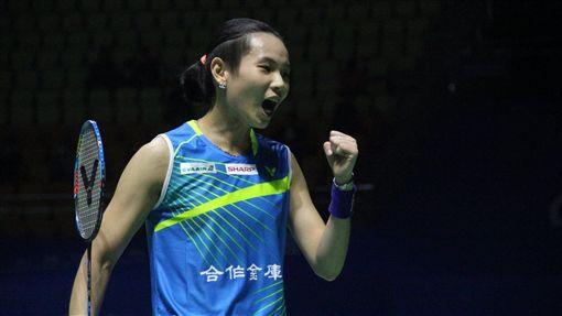 ▲戴資穎今日於中國頂超賽晉級8強。(圖/翻攝自戴資穎臉書)