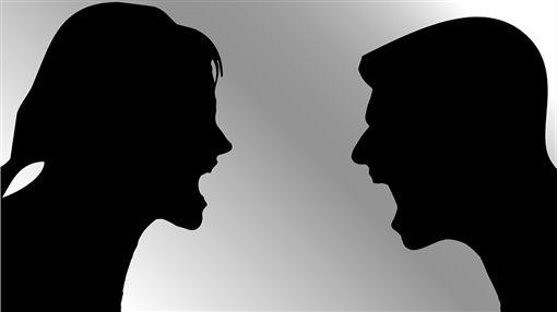 生氣、爭吵、吵架/pixbay