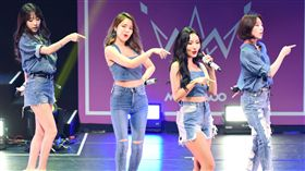 韓國人氣女子團體MAMAMOO首度來台舉辦見面會與台灣粉絲相見