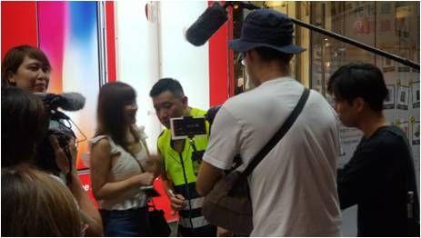 杜汶澤,Viu TV,走佬去台灣,信義區,警察 圖/記者藍宜楨攝
