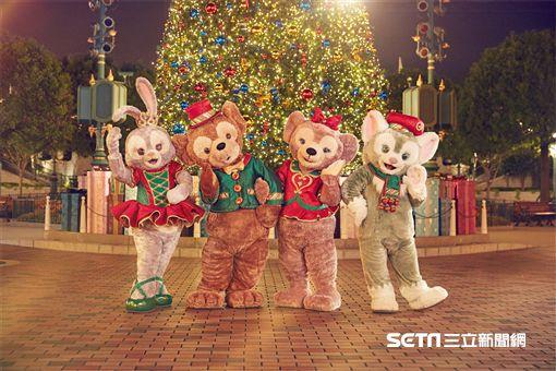 2017香港迪士尼聖誕節。(圖/香港迪士尼提供)