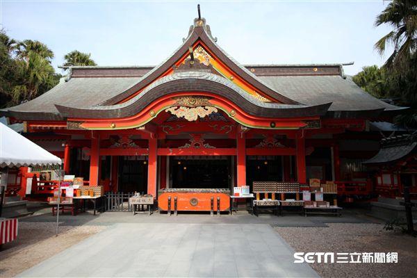 日本宮崎縣青島神社。(圖/記者簡佑庭攝)