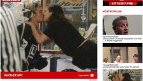 賽琳娜(Selena Gomez)小賈斯汀(Justin Bieber) http://www.tmz.com/2017/11/16/justin-bieber-selena-gomez-kissing-hockey/