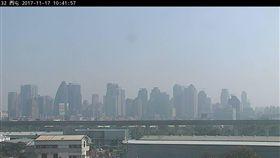 空氣品質,空汙,PM2.5,細懸浮微粒,空氣品質,台中 (圖/翻攝自環保署)